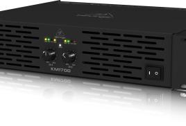 Behringer KM750 и KM1700 – профессиональные стереофонические усилители мощности