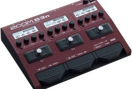 Zoom B3n – процессор мультиэффектов для бас-гитары