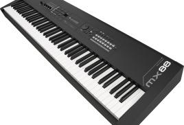Yamaha MX88 – флагманский 88-клавишный синтезатор серии MX